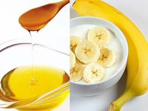 fata masca banana