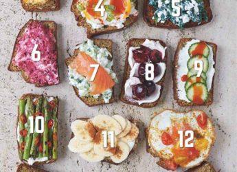 Super alimente: pâine și topping cu proteine din belșug