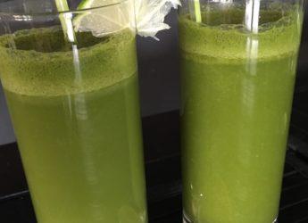 Limonada cu ceai verde